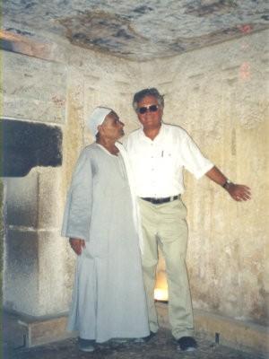 Ägypten Giza Grabkammer