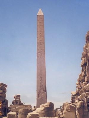 Ägypten Monolith Luxor