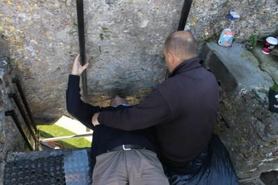 Irland magischer Stein